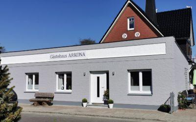 Gästehaus Arkona in Tönning eröffnet am 18.05.2020