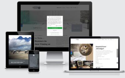 Gästehaus Arkona Homepage jetzt auch mobile